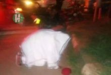 Photo of Photos: Nnamdi Kanu in Jewish Attire at Nkpor praying for Biafra