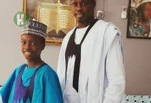 Photo of Kannywood child actor revealed that his ambition is to outshine his father in acting