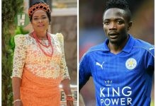 Photo of Ahmed Musa showers words of praise to honour his Biological Mother