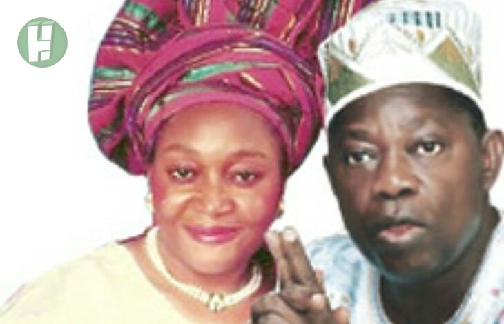 Photo of Abiola's family reacts to President Buhari's award on their father